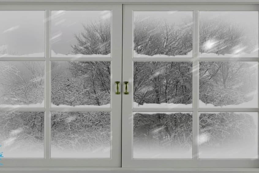 Preventing Snow Buildup On Windows