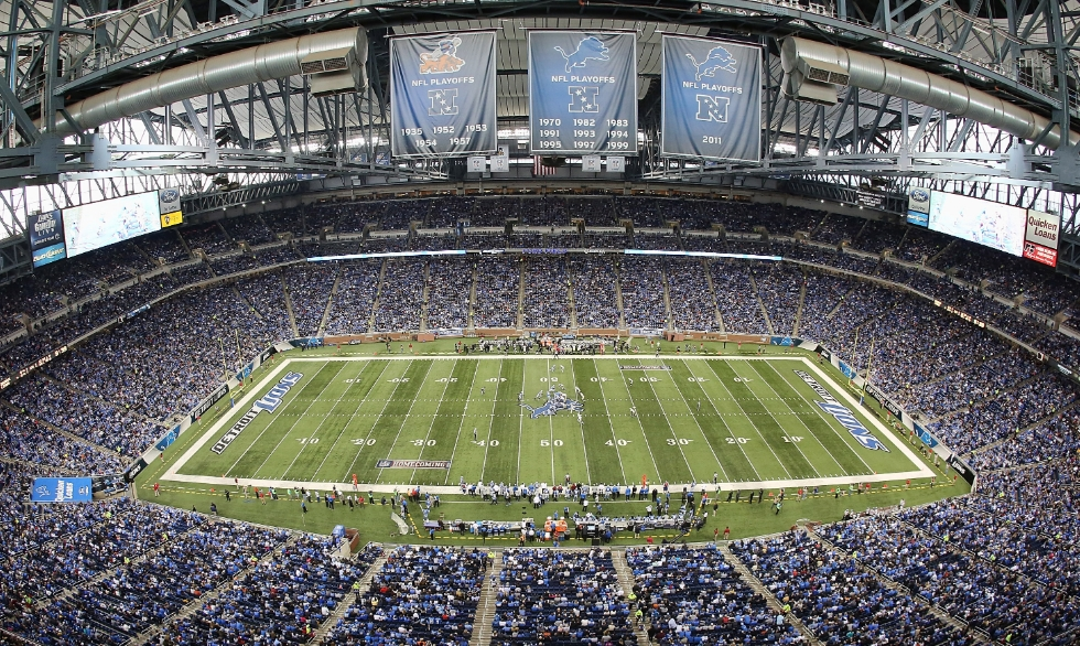 Ford Field — Detroit Lions