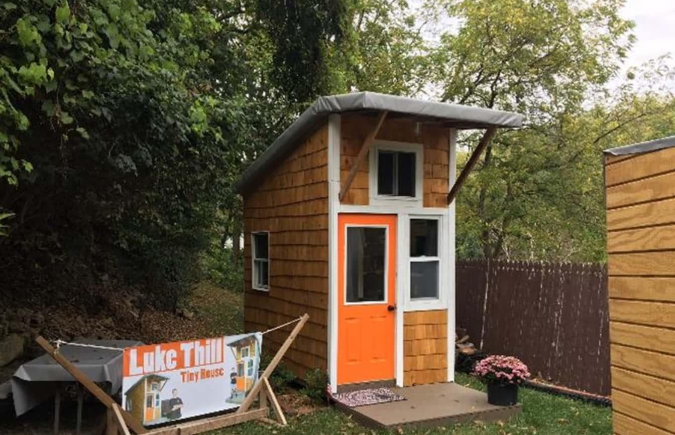 Com Apenas Três Anos Luke Thill Constrói Casa Própria Por 1.500 Dólares
