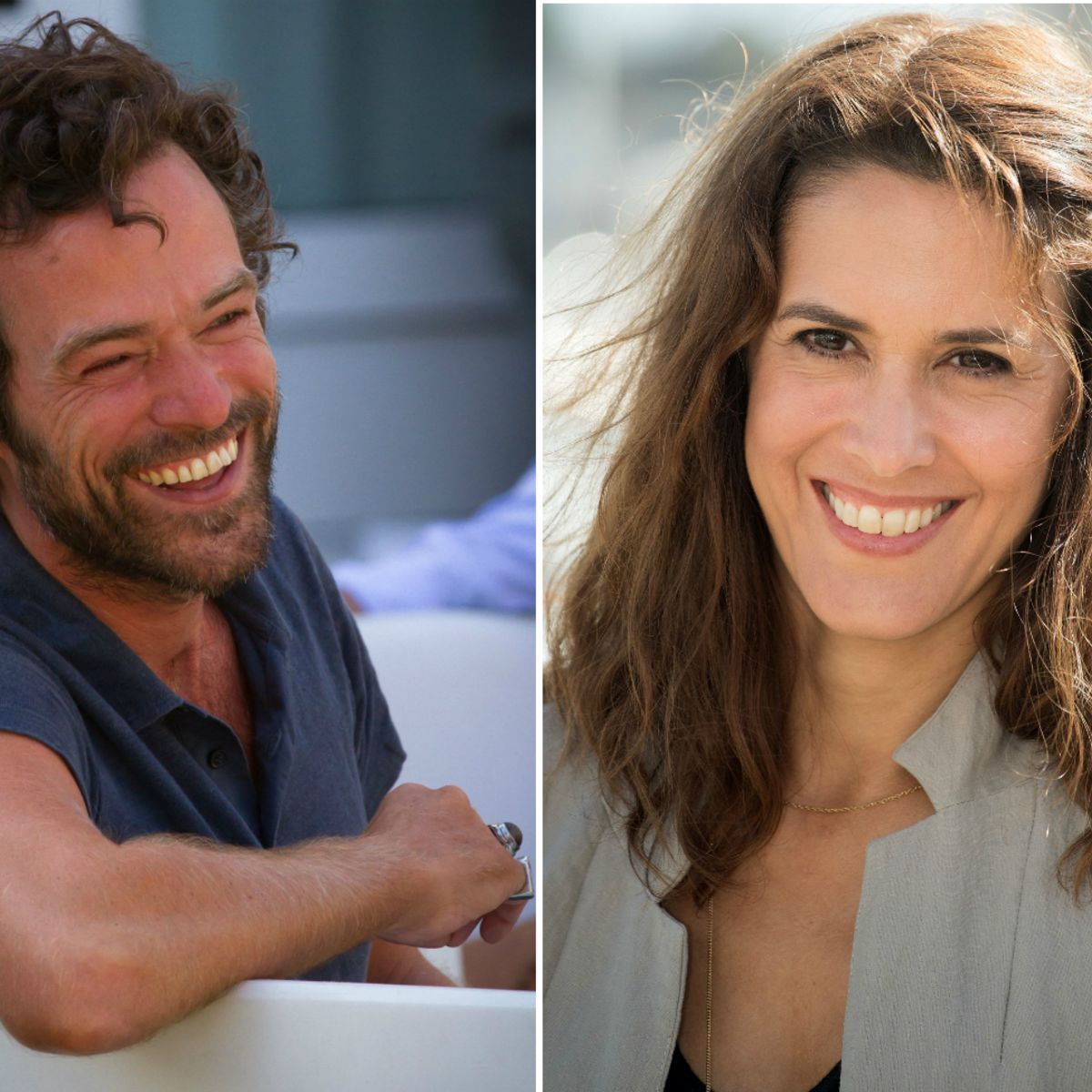 Romain Duris Et Olivia Bonamy