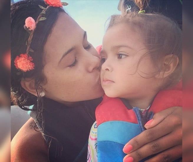 Teaching Her Daughter 'Love'